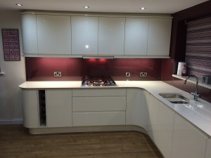 Recent new kitchen installation Hartlepool